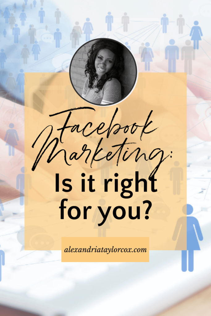 Facebook Marketing is it right for you?